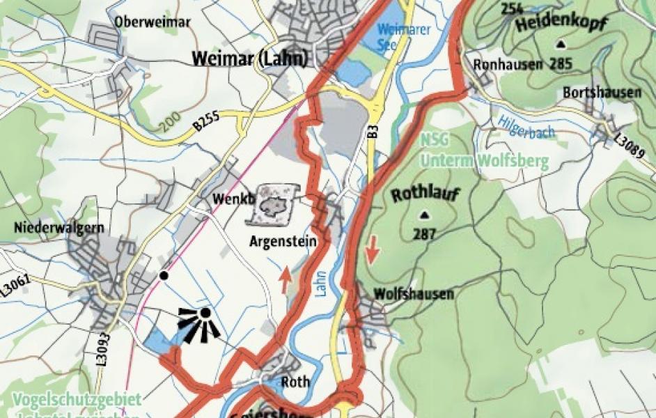Natura Trail Die Lahnauen Bei Marburg Mit Dem Rad Zu Altarmen