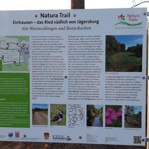 Naturatrail Einhausen Schild